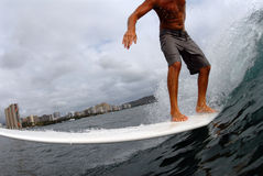 Longboarder Imagens de Stock