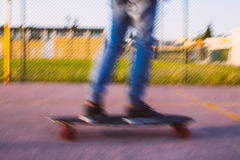 Longboarder Photographie stock