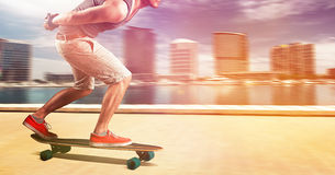 Longboarder Stock Photos