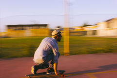 Longboarder Royalty Free Stock Photo