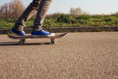 Longboarding   免版税库存图片