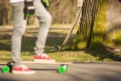 Longboarding Stock Foto
