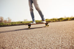 Longboarding   Royalty Free Stock Images
