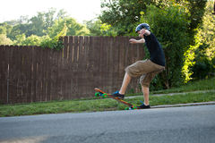 Longboarding Tricks Stock Photos