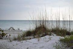 longboat пляжа ключевой Стоковое Изображение