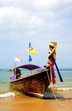 Longboat al vostro servizio Fotografia Stock Libera da Diritti