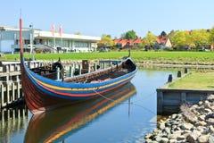 Longboat de Viquingue Imagem de Stock Royalty Free