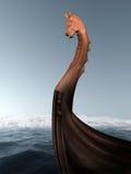 Longboat del Vichingo Fotografie Stock Libere da Diritti