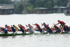 Longboat racing Stock Photography