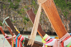 Longboats tailandesi Immagini Stock Libere da Diritti