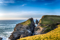 Longcarrow Cove in Cornwall Stock Image