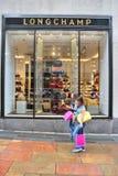 Longchamp商店,纽约 库存照片