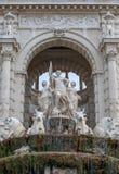 Дворец Longchamp марселя в южной Франции Стоковая Фотография