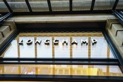 Longchamp logo Obraz Royalty Free