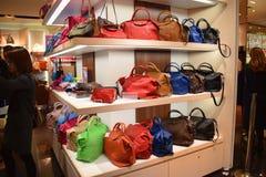 Longchamp Paris Nouvelle Collection Stock Photography