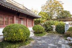 Longchui nunnery Royalty Free Stock Image