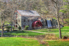 Longellow's Wayside Inn Grist Mill Stock Photo