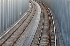 Longeron ferroviaire Photos libres de droits