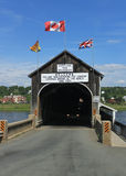 The longest covered bridge in the world Royalty Free Stock Photos