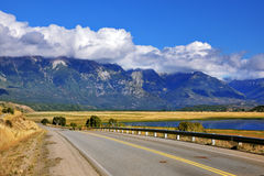 The longest road in Argentina Ruta 40 Royalty Free Stock Image