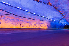 The longest road tunnel in world, Laerdal, Norway Royalty Free Stock Image