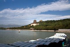 The Longevity Hill and the Kunming Lake Stock Image
