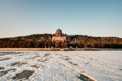 Longevity Hill winter Royalty Free Stock Photos