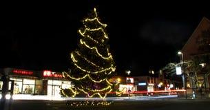 Longexposure de la Navidad Imagen de archivo libre de regalías