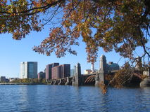 Longfellow Bridge in Cambridge Stock Photography