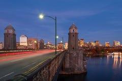 Longfellow bridge stock photos
