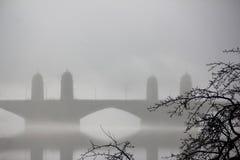 Longfellow most w Boston Zdjęcia Royalty Free