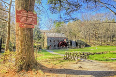 Longfellow's Wayside Inn Grist Mill Royalty Free Stock Photo
