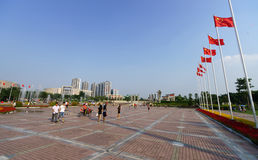 Longgang okręg w ShenZhen obraz stock