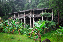 Longhouse in borneo