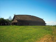 longhouse viking Arkivfoton