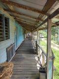 longhouses Photo libre de droits