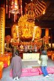 Longhua buddhist temple Stock Photos
