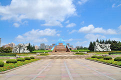 Longhua Martyrs Cemetery. In Shanghai Stock Image