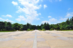 Longhua Martyrs square. Longhua Martyrs Cemetery in Shanghai Stock Images