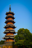 Longhua Pagoda Royalty Free Stock Photo