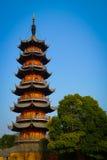 Longhua Pagoda Royalty Free Stock Photo