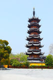 Longhua Pagoda Royalty Free Stock Photography