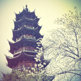 Longhua Pagoda Stock Photo