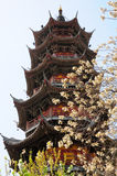 Longhua Temple Pagoda Stock Photo