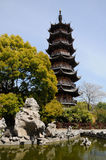 Longhua Temple Pagoda Royalty Free Stock Photography