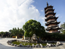 Longhua Temple Royalty Free Stock Photography