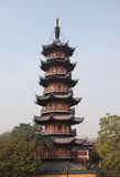 longhuashanghai tempel arkivbilder