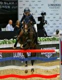 Longines beherrscht Pferd Stockfoto