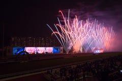 LONGINES Hong Kong International Races 2012 Royalty Free Stock Images
