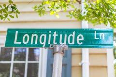 Longitude Lane Stock Image